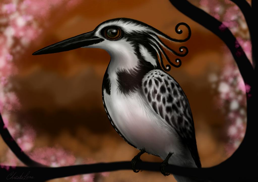Kingfisher by grumkinz