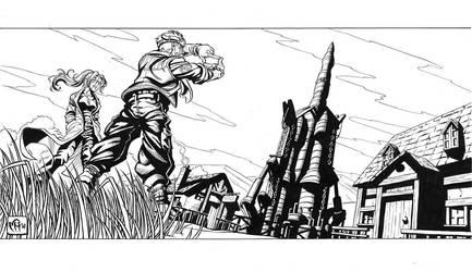 Cid, Shera and the Rocket by MarcelPerez