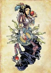 Steampunk Snow White by MarcelPerez