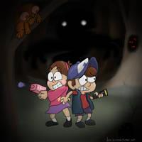 Gravity Falls by LordBoop