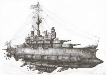 Flugschlachtschiff by JanBoruta
