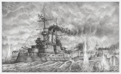 Tsushima - The Russians by JanBoruta