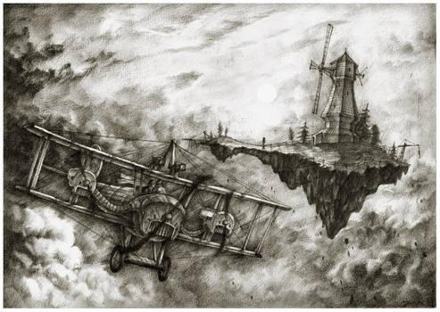 Windmill, windmill by JanBoruta