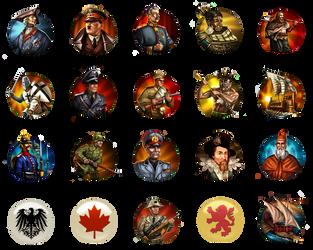 Civilization 5 Mods Icons by JanBoruta