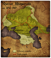 Civilization 5 Map: Khazar Khaganate by JanBoruta