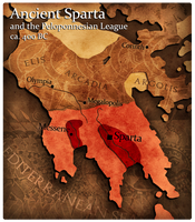 Civilization 5 Map: Sparta by JanBoruta