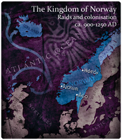 Civilization 5 Map: Kingdom of Norway by JanBoruta
