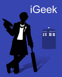 iGeek - Dr Who by deeed