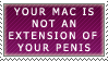 Mac Wank by genkistamps
