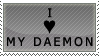 I love my Daemon by genkistamps