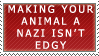 Nazi Animals... WHAT by genkistamps