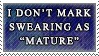 Don't Mark Mature by genkistamps