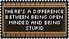 Open Minded Does Not Mean Dumb by genkistamps