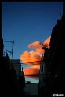 Evening sky by NeoRavenous