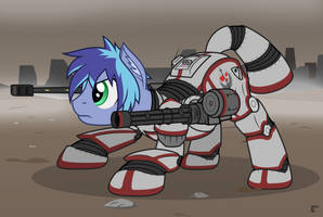 Scout Charger ready for combat by MrLolcats17