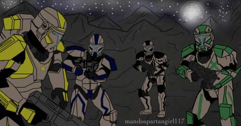 Raven Squad Abanandoned by mandospartangirl117