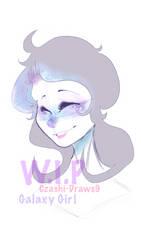 Galaxy Girl~ [W.I.P] by Czashi-Draws9