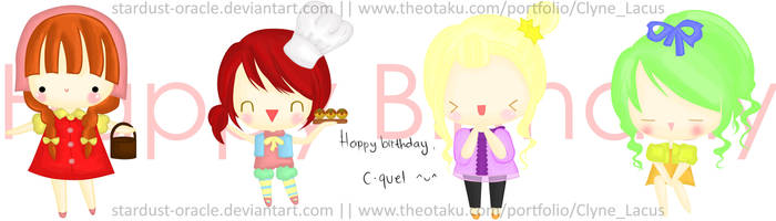 Happy Birthday, C-quel by stardust-oracle