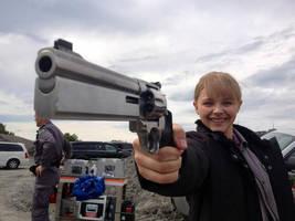 Kick-Ass 2: Mindy's Got A Gun by Mark35950