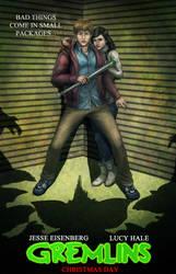 Gremlins Remake Movie Poster by Mark35950