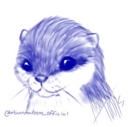 otter by AlexandraToons