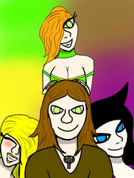 The Four What-ya-ma-call-its by theBlackWolff