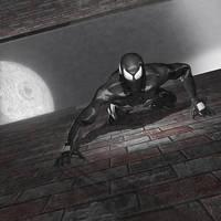 Symbiote Spiderman by kenneyken