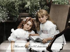 Edwardian girls by MemoriesOfTime97