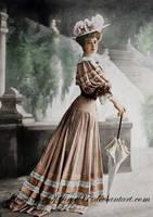 Edwardian Gibson Girl by MemoriesOfTime97