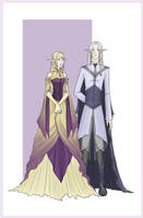 Gray Elves by BluFireDragon667
