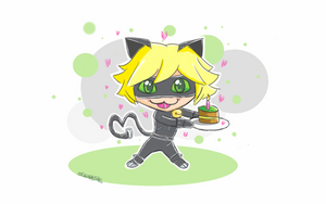 Cute Chat Noir by GoFouster