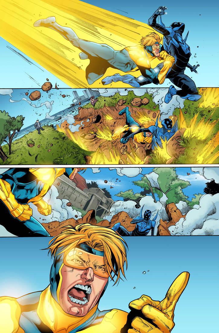 Blue Beetle 11 Page Sample by GuilhermeMendes
