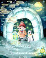 Christmas Card by Cati-Saki