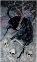 The Black Wolf by Snozna