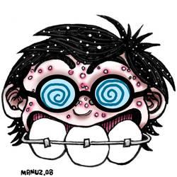 3 teeth - Geek by Manu-2005