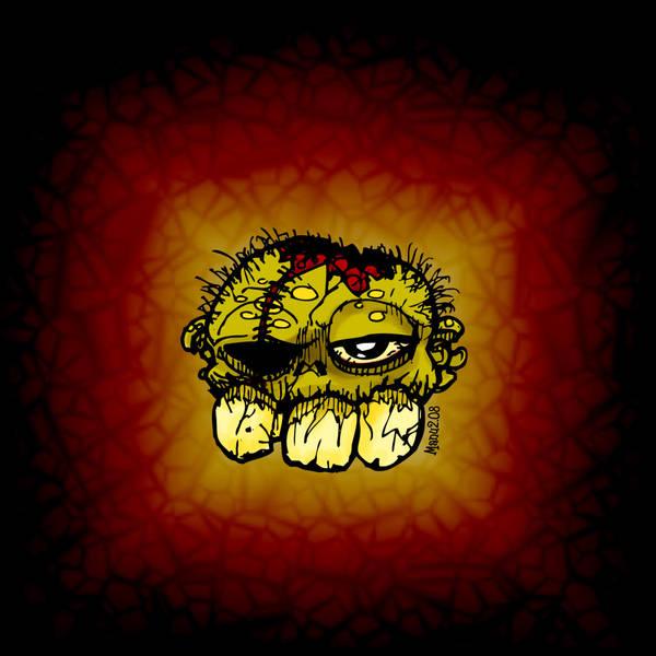 Three Teeth - Zombie by Manu-2005