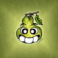 Three teeth - Pear by Manu-2005