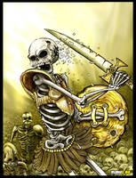 Skeleton Warriors by Manu-2005