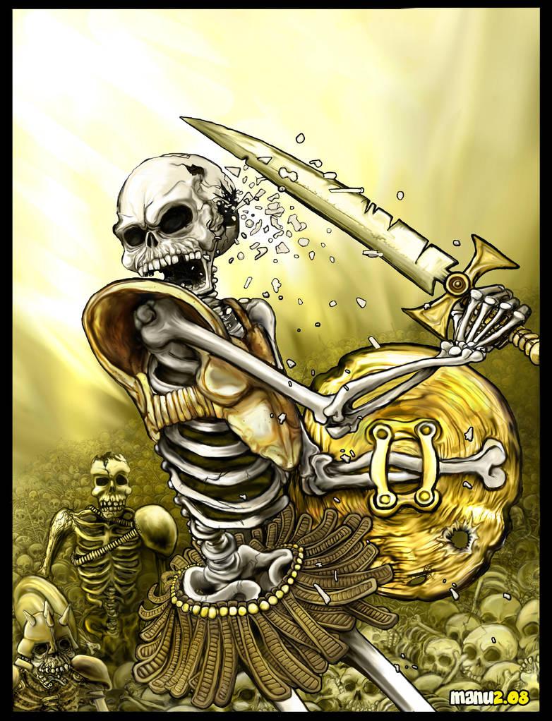 Skeleton Warriors by Manu-2005