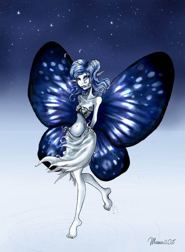 Blue Fairy - Bluf-Fee by Manu-2005