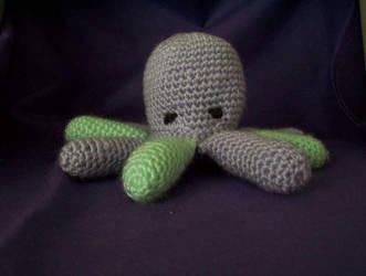 Octopus Amigurumi by LadyDragonTear