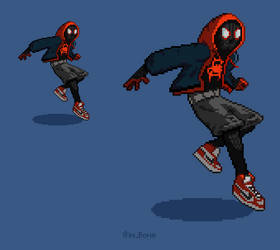 Miles Morales by SquirrelKidd