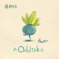 Oddish by FL-ZC