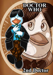Disney Doctors - 2nd Doctor by kiraji