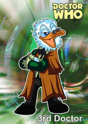 Disney Doctors - 3rd doctor by kiraji