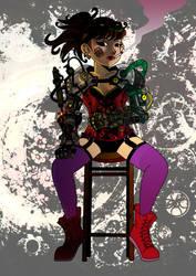 Steamgirl1a-ok by kiraji