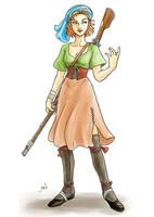 Pirate Girl by AriochIV