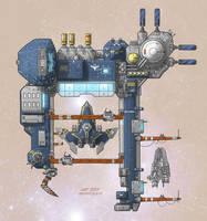 Stars in Shadow: Ashdar Shipyard by AriochIV