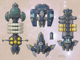 Stars in Shadow: Ashdar Transports by AriochIV