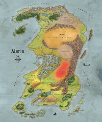 Alaria Map by AriochIV